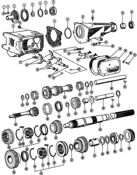 1966-72 Pontiac Manual Transmission (Exc. H.D