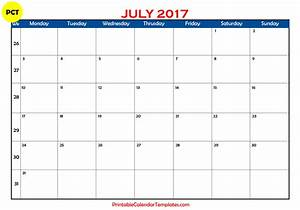 July 2017 calendar printable | Printable Calendar Templates
