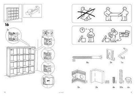 Expedit Ikea Anleitung by Ikea Expedit Furniture Manual For Free Now