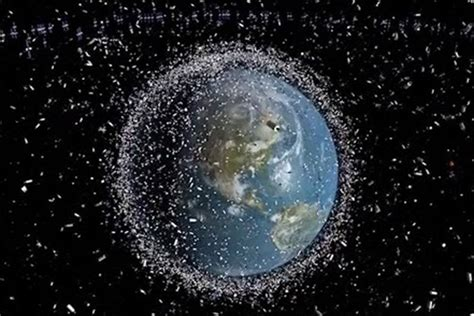 Satellites Tremble As Japans Space Junk Collection
