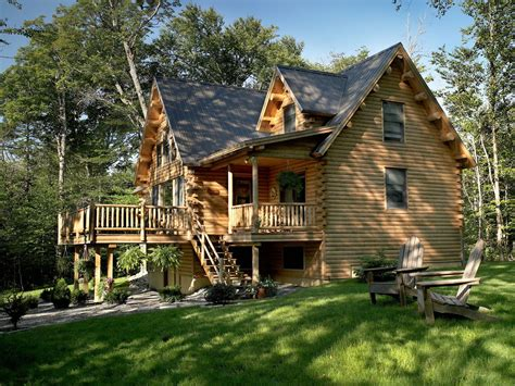 Katahdin Cedar Log Homes Floor Plans