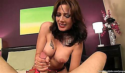 Mexican Stepmother Gives Her First Assh #Stepmom #Gives #A #Silky #Valentines #Day #Handjob #For #His #Son
