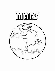 Mars Planet Coloring Page Free Printable Coloring Pages ...