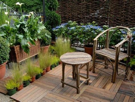 terrasse en bois  idees pour une deco moderne