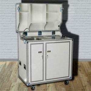 Pro Art Kitcase : kitcase pro art kofferk che weiss hochglanz mobile messek che mit rollen ~ Markanthonyermac.com Haus und Dekorationen