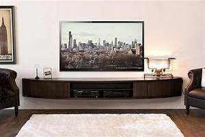 tv console wall mount