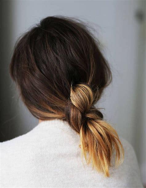 coiffures faciles simples et rapides pour cheveux mi longs coiffure simple et facile