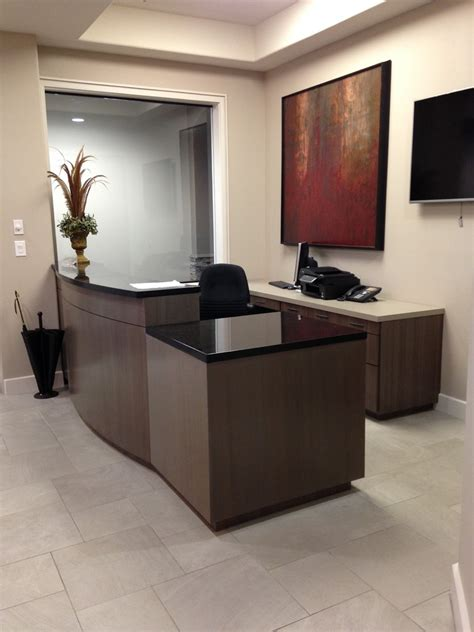 Small Reception Desk Ideas by Reception Desk Ideas Spaces With Custom Made Desk Officice