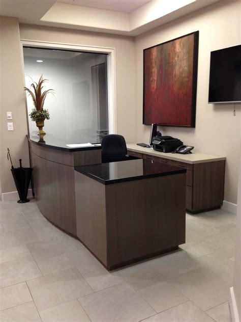 reception desk ideas Spaces with custom made desk officice