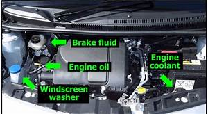 Engine Diagram For The Driving Test