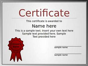 certificate of participation template ppt - powerpoint certificate templates certificate templates