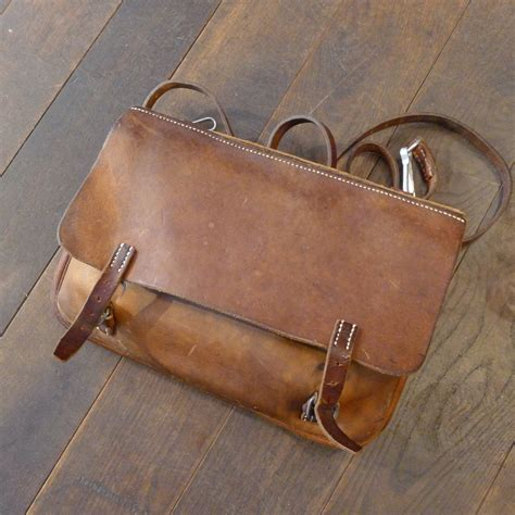 Leder Alt Machen by Leder Schweizer Armee Tasche Vintage Vintage