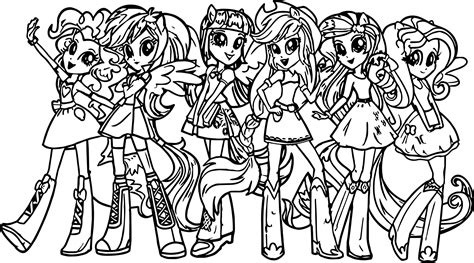 my pony coloring pages printable free