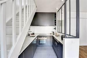 Escalier En U : cuisine sous escalier en u ~ Farleysfitness.com Idées de Décoration
