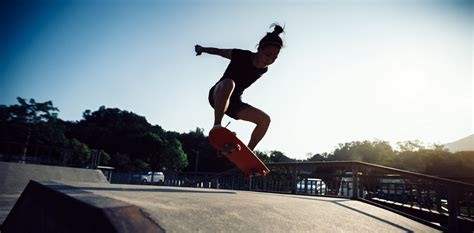 skateboarding flipped  white male image