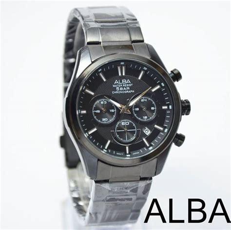 Jam Tangan Alba Cowok 2 jual beli jam tangan pria cowok alba chrono rantai