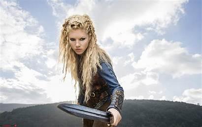 Winnick Katheryn Vikings Lagertha Wallpapers Resolution Sword
