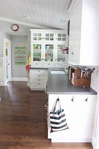 house tour kitchen the pleated poppy With kitchen colors with white cabinets with iphone charger stickers