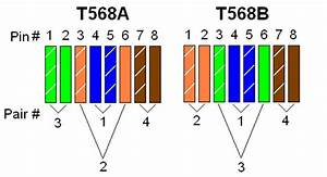 Ethernet Cable Wiring Diagram T568b