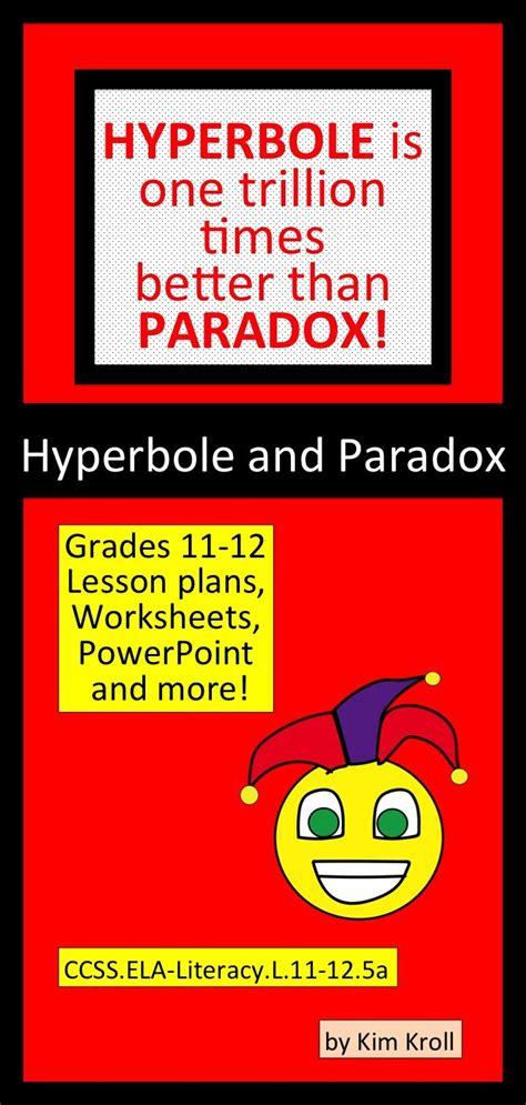 hyperbole  paradox interpreting figures  speech