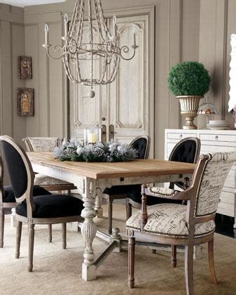 french script dining chairs french dining room