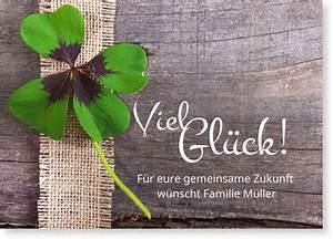 Glückwunschkarten Hochzeit Selber Machen Kostenlos : gl ckwunschkarten hochzeit schneller kostenloser versand ~ Watch28wear.com Haus und Dekorationen