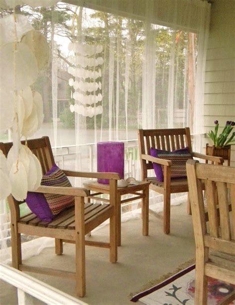 rideau veranda idees esthetiques pour agrementer votre