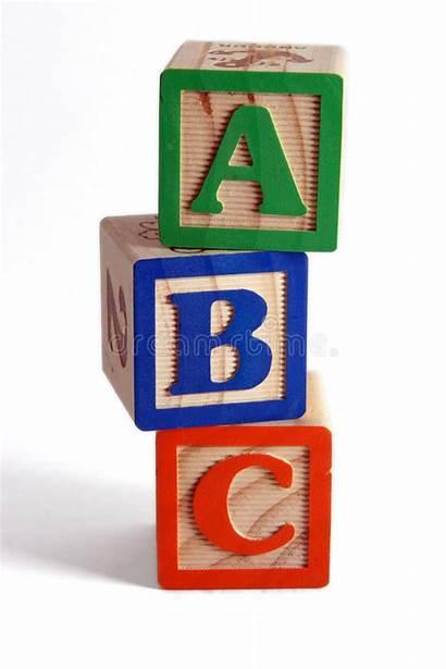 Blocks Abc Stacked Vertically Wooden Alphabet Christian