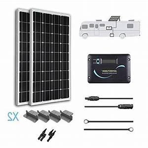Renogy 200 Watt 12 Volt Monocrystalline Solar Rv