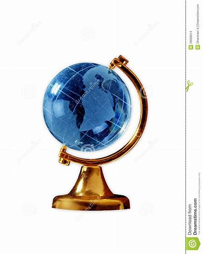 Globe Glass Stand Metal Gold Mr Dreamstime