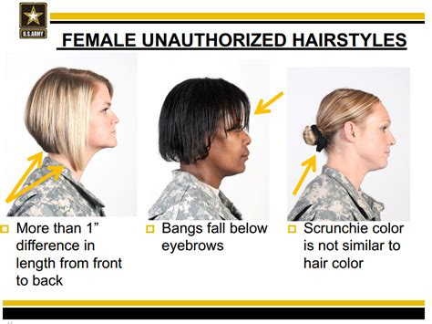 hair regs   army unfair  women  soldiers