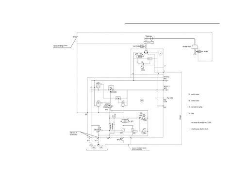 winch hydraulic schematic winch control block hydraulic schematic