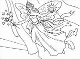 Fairy Coloring Pages Print Printable Fairies Pdf sketch template