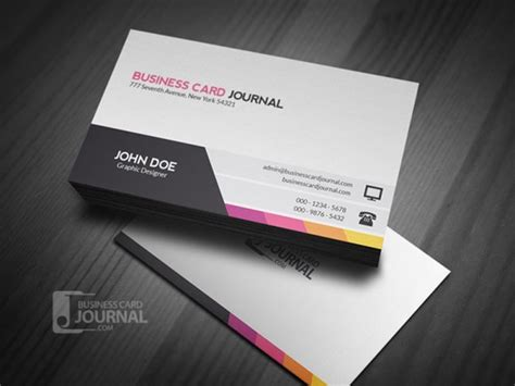 card templates best free business card templates developer s feed