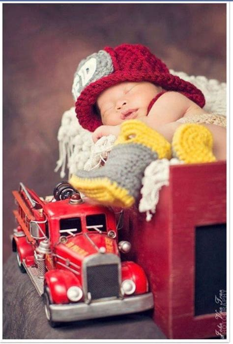lil fireman photo shoots firefighter baby baby