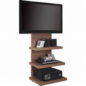 altra wall mount tv stand with 3 shelves for tvs up to 60 With wall mount tv stand never die