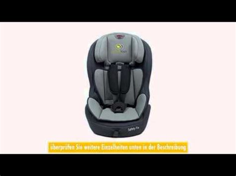 Kinderkraft Kksafexblkisfx Safetyfix Kinderautositz Mit Isofix Dunkelblau