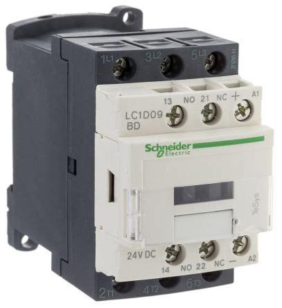 kontaktor schneider lc1d09 lc1d09bd tesys d lc1d 3 pole contactor 3no 9 a 4 kw