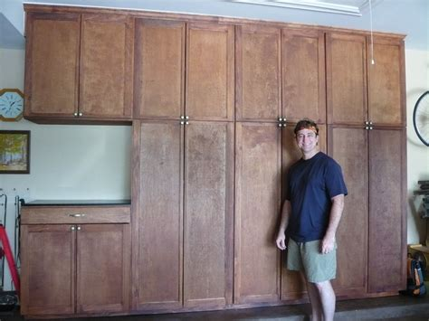 how to make garage cabinets build wooden build your own garage cabinets plans download