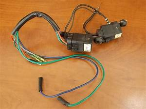 Mercury Force Power Trim Wiring Harness W   Relays 1991