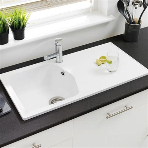 compact kitchen sinks astracast dart compact 1 0 bowl rok granite kitchen sink 2405