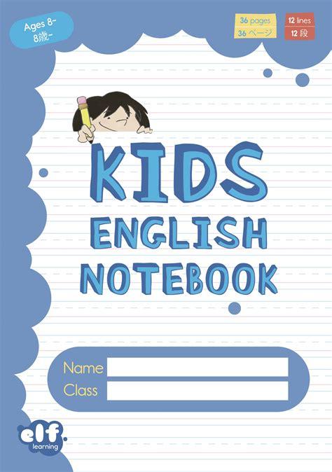 Kids English Notebooks Level 2 - Blue - ELF Learning