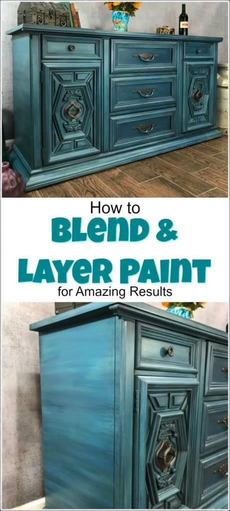 blend layer paint  amazing results  painted