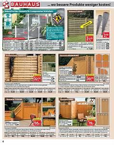 Sichtschutz Glas Bauhaus : sichtschutzzaun holz bauhaus ~ Eleganceandgraceweddings.com Haus und Dekorationen