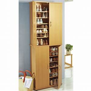 Armoire à Chaussures : armoire chaussure 40 paires ~ Teatrodelosmanantiales.com Idées de Décoration