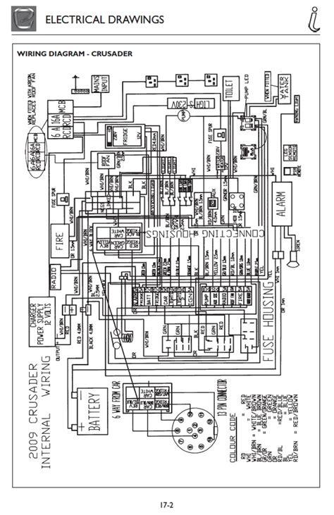 13 pin wiring diagram for elddis crusader 2009 caravan electric caravan talk