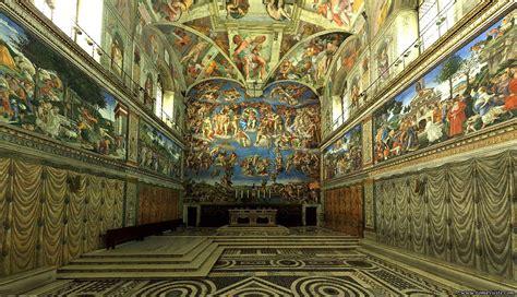 Peintre Qui A Peint La Chapelle Sixtine by Rome Capitale D Italie Arts Et Voyages