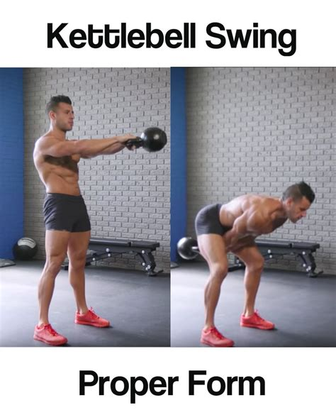 kettlebell swings muscles worked benefits form proper swing muscle results groups benefit guide