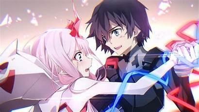 Zero Hiro Anime Darling Franxx Background Blur