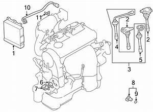 Mitsubishi Lancer Engine Control Module  Trans  Auto